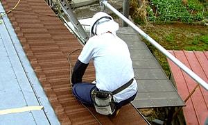 屋根の高所作業