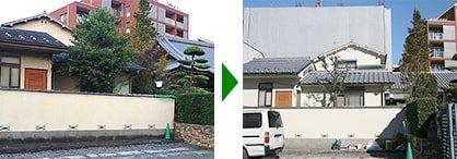 屋根の葺き替え外周リフォーム事例