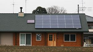 太陽光発電システム施工例