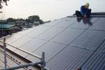 太陽光パネル:施工風景4