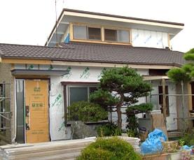 栃木県S様邸 | トタン屋根にTルーフで勾配(角度)をつけたカバー工法サムネイル